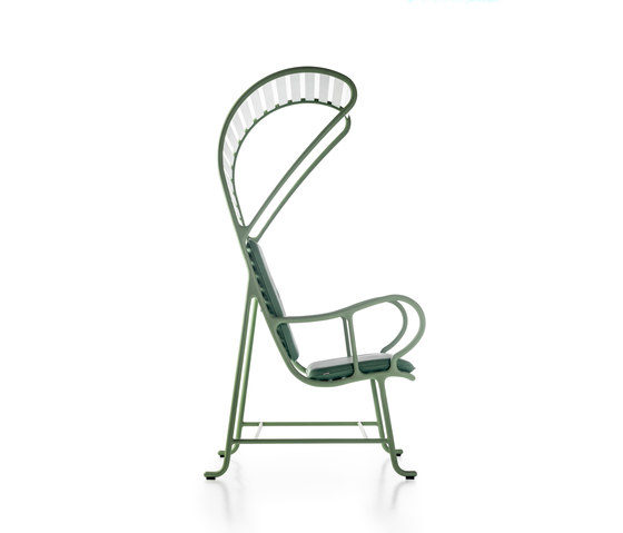 Gardenias Armchair with Pergola by BD Barcelona | Garden armchairs