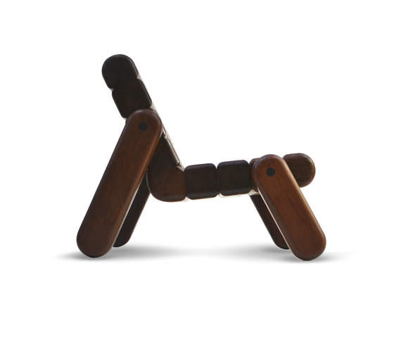 Inflated Wood chair by Cappellini | Lounge chairs