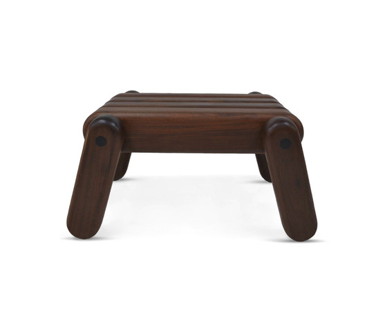 Inflated Wood stool by Cappellini | Ottomans