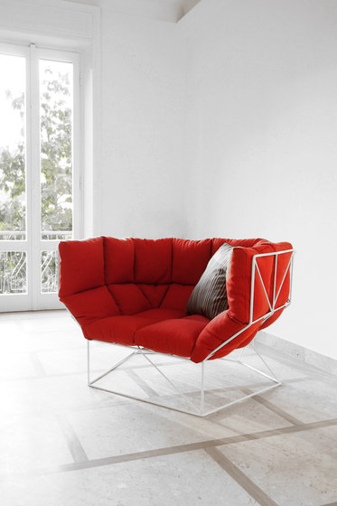 Foxhole | 120 Armchair by spHaus | Garden chairs