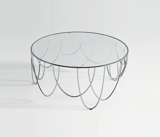 Drapery by spHaus | Lounge tables