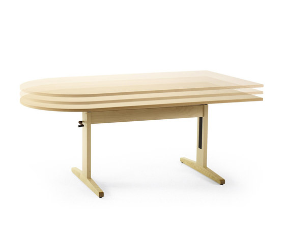 Bo dining table by Helland | Tables
