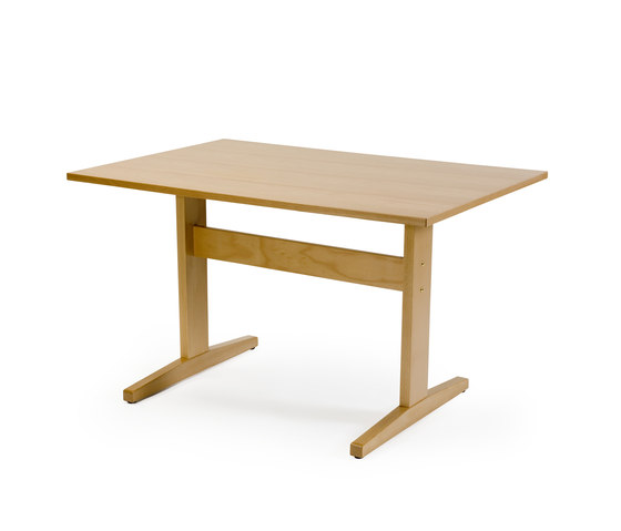 Bo dining table by Helland | Cafeteria tables