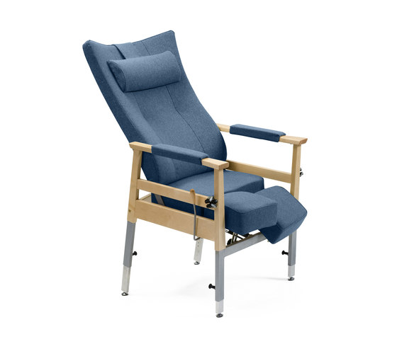 Bo recliner chair sillas para ancianos de helland for Sillas para orinar ancianos