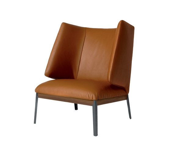 Hug armchair highback by ARFLEX | Lounge chairs