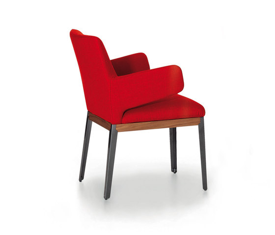 Hug armchair smaller side by ARFLEX | Visitors chairs / Side chairs