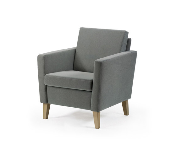 Bo armchair by Helland | Elderly care armchairs