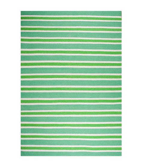 Sanibel Green Stripe by Elson & Company | Rugs / Designer rugs