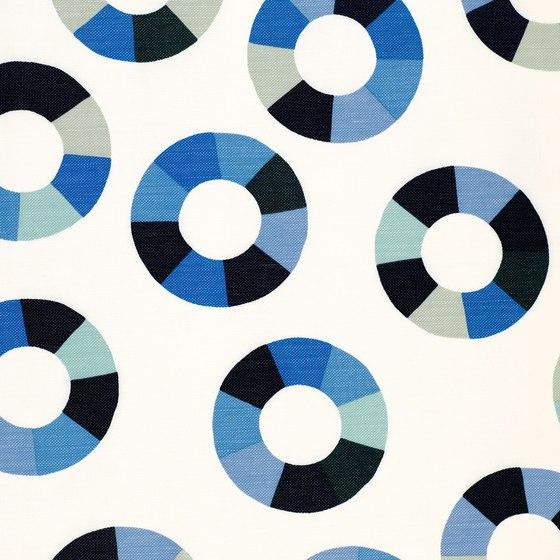 Color Wheel Ocean by LULU DK | Drapery