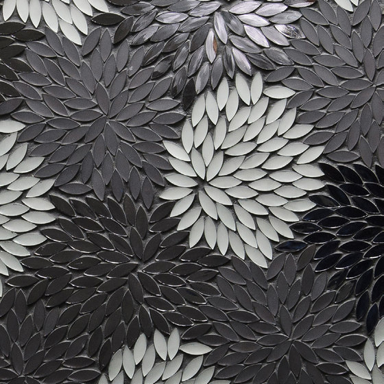Estrella Silver Blend Glass Mosaic de Artistic Tile   Mosaïques verre