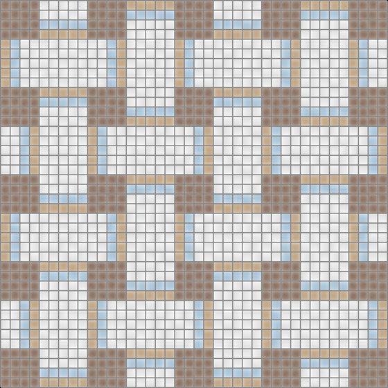Basketweave Pebble di Artaic | Mosaici vetro