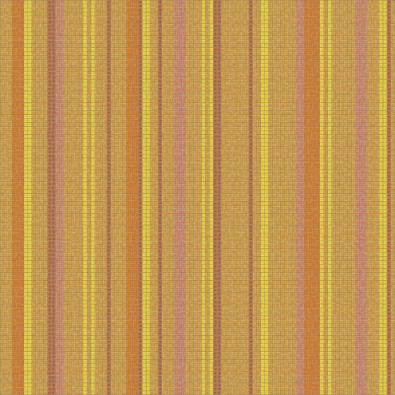 Varied Stripes Orangina de Artaic | Mosaïques verre