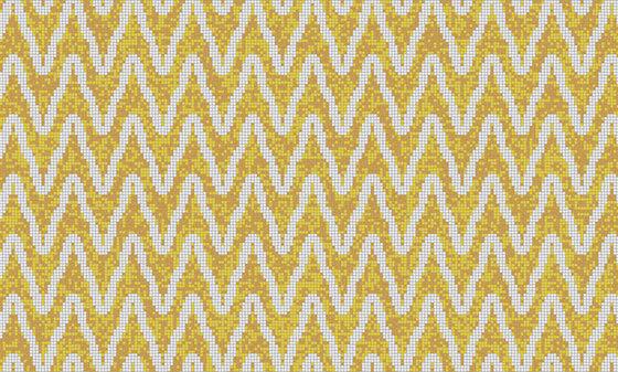 Zulu Weave Golden Rod de Artaic | Mosaïques verre