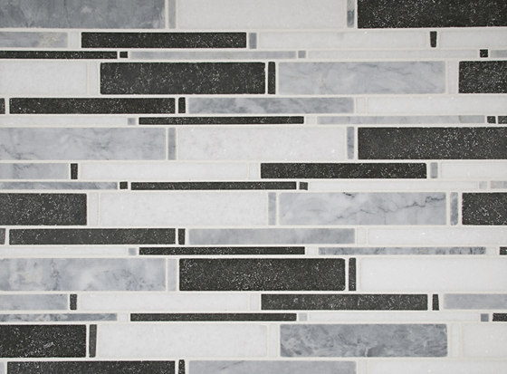 Horizonte Mosaic Barcelona Blend by Complete Tile Collection | Natural stone mosaics