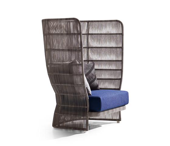 Canasta by B&B Italia | Garden armchairs