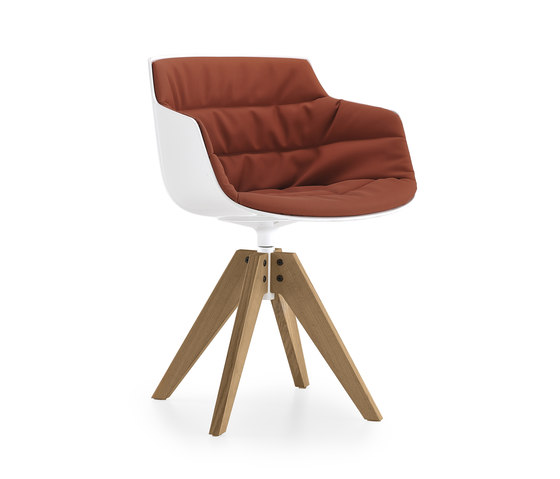 Flow slim armchair* by MDF Italia | Conference chairs