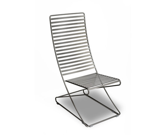 Parc Lounge no arms by Landscape Forms | Exterior chairs
