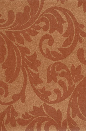 Tiara Scroll Copper Glow by Vycon | Wall coverings