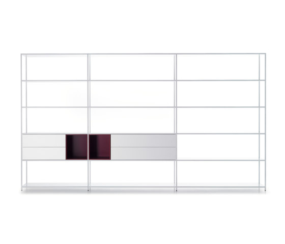 Minima 3.0 by MDF Italia | Office shelving systems