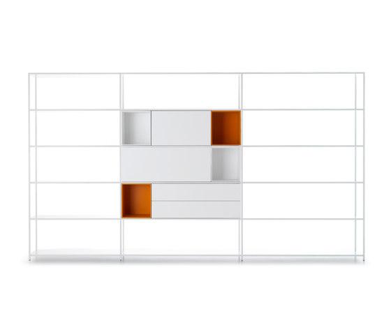 Minima 3.0 by MDF Italia | Office shelving systems