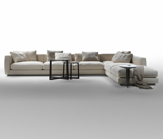 Pleasure sectional sofa by Flexform | Modular seating systems