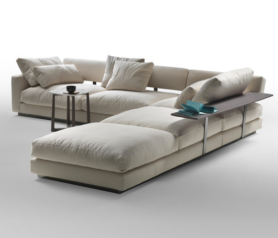 Pleasure sectional sofa by Flexform | Lounge sofas