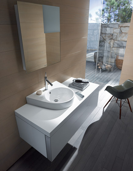 Starck 2 - Above counter basin by DURAVIT | Wash basins
