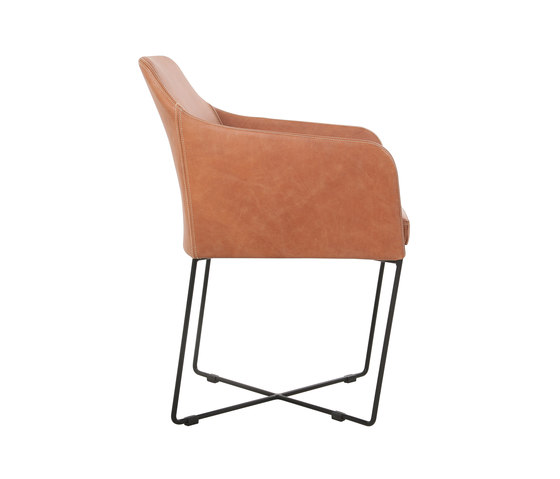 Youma Armchair by KFF | Visitors chairs / Side chairs