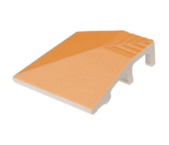 Grip angle Mandarino by Ceramica Vogue   Floor tiles