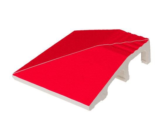 Grip angle Rosso by Ceramica Vogue   Floor tiles