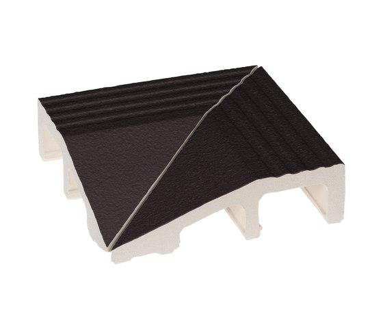 Grip edge Nero by Ceramica Vogue | Floor tiles