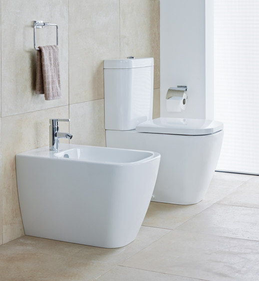 Happy D.2 - Toilet, Bidet, close-coupled by DURAVIT | Toilets