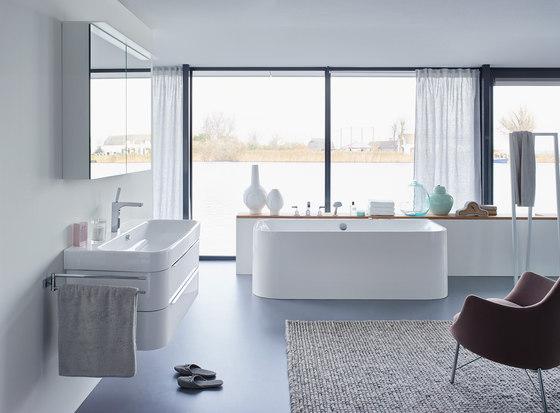 Happy D.2 - Bathtub by DURAVIT | Wall-mounted baths