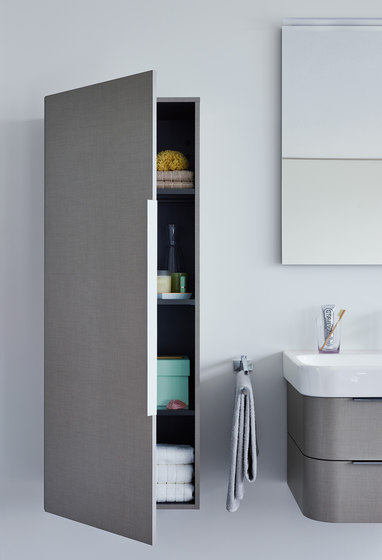 Happy D.2 - Cabinet tall by DURAVIT | Wall cabinets