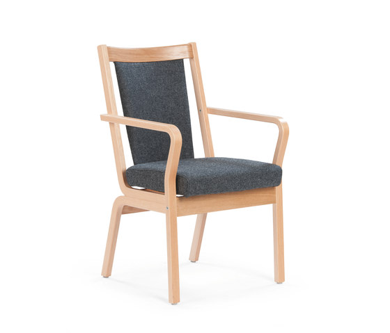 Duun chair by Helland | Elderly care chairs