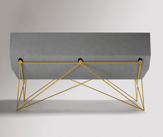 Inclinare Bench by Hard Goods | Benches