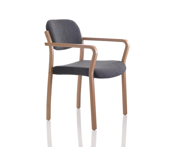 Duun chair stackable by Helland | Elderly care chairs