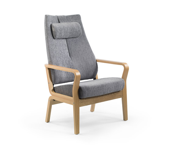 Duun recliner chair by Helland | Elderly care armchairs