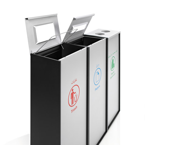 Zurich by Planning Sisplamo | Waste baskets