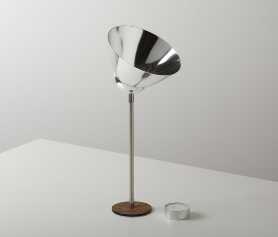 VLAMP RAW large by jacob de baan | Candlesticks / Candleholder
