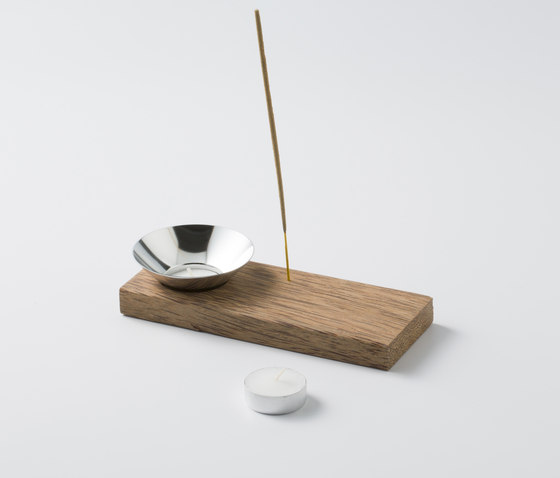 VLAMP RAW SMOKE 1 by jacob de baan | Candlesticks / Candleholder