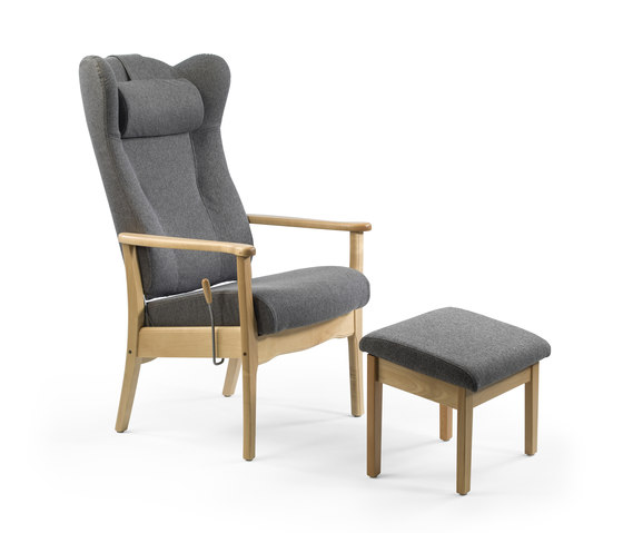 Ergo recliner chair by Helland | Elderly care armchairs