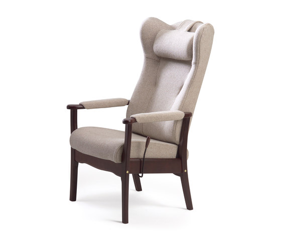 Ergo recliner chair by Helland | Elderly care armchairs