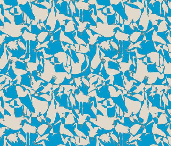 Störche I Familiengeschichte I Fabric by Sabine Röhse | Bespoke fabrics
