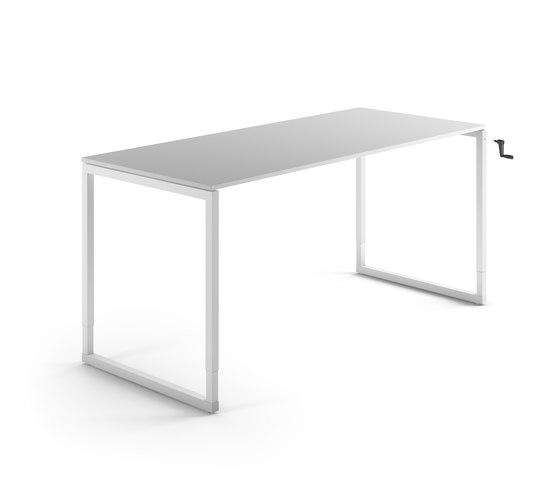 Framework Regolabile by Fantoni | Individual desks