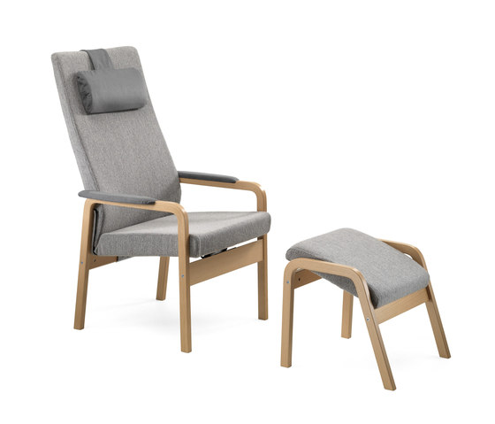 Gent recliner chair by Helland   Armchairs