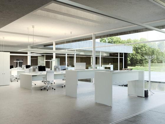 Quaranta5 by Fantoni | Individual desks