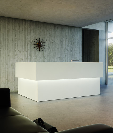 Quaranta5 by Fantoni | Reception desks
