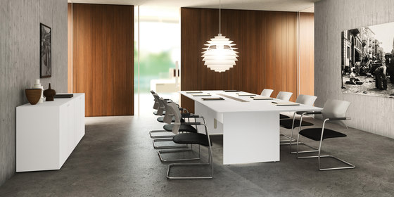 Quaranta5 by Fantoni | Meeting room tables