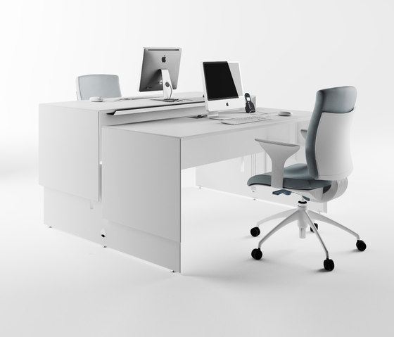 Quaranta5 Lift Up by Fantoni | Individual desks
